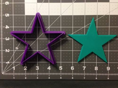 5 Point Star Cookie Cutter