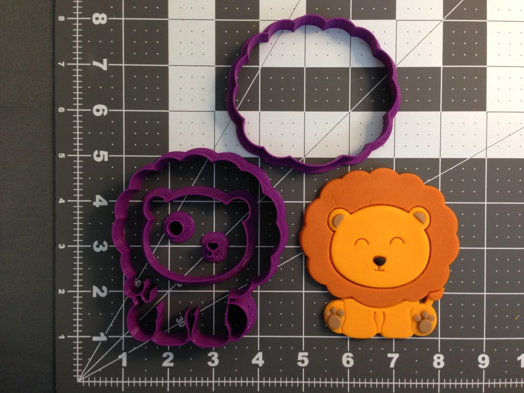 Baby Lion Cookie Cutter Set