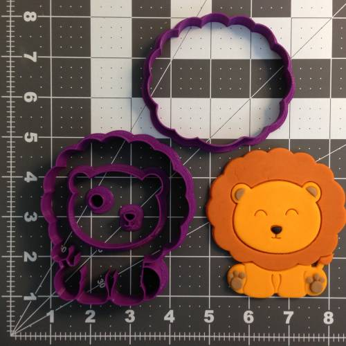 Baby Lion 266-B900 Cookie Cutter Set (4 inch)