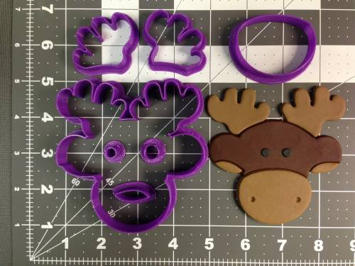 Moose Cookie Cutter Set