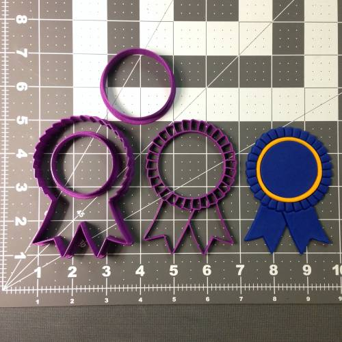 Award Ribbon 102 Cookie Cutter Set