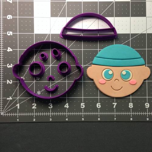Baby Face Cookie Cutter Set