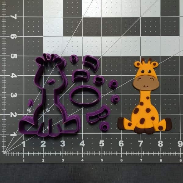 Baby Giraffe 101 Cookie Cutter Set