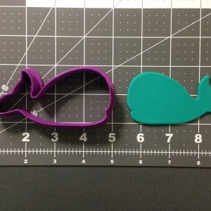 Baby Whale Cookie Cutter