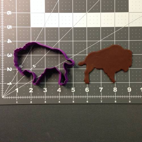 Buffalo Cookie Cutter