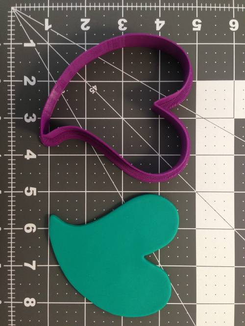 Curved Heart Cookie Cutter