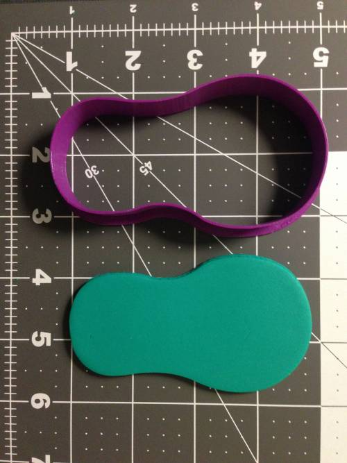 Flip Flop Silhouette 266-A754 Cookie Cutter