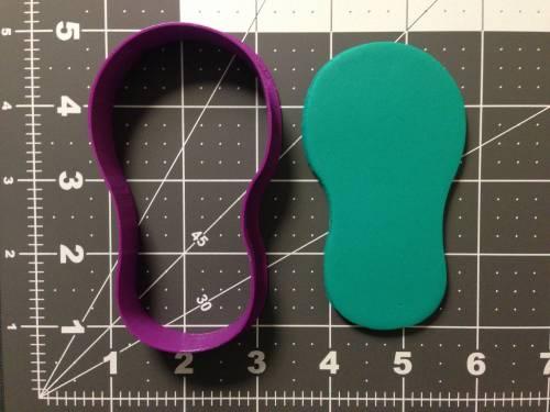 Flip Flop Silhouette 266-A754 Cookie Cutter