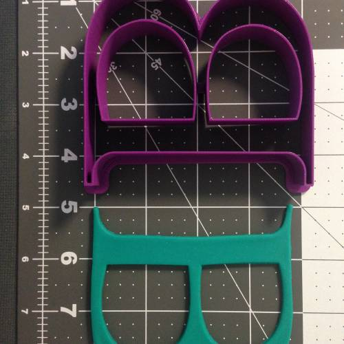 Greek Letter Beta Cookie Cutter