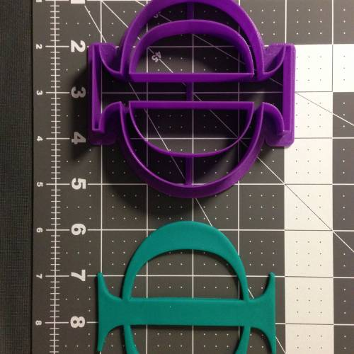 Greek Letter Phi Cookie Cutter