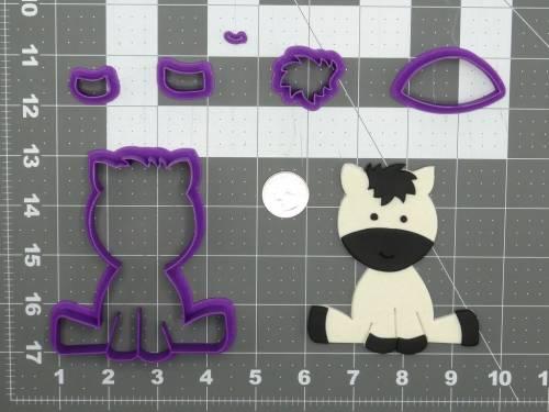 Baby Zebra 266-D007 Cookie Cutter Set