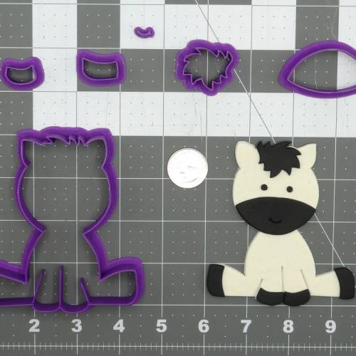 Baby Zebra 266-D007 Cookie Cutter Set
