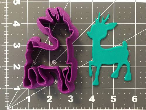 Christmas - Reindeer 266-A840 Cookie Cutter