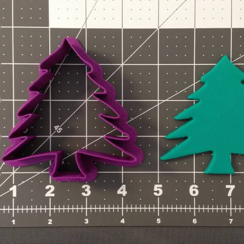 Christmas - Tree 266-A832 Cookie Cutter