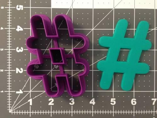 Hashtag 266-A785 Cookie Cutter