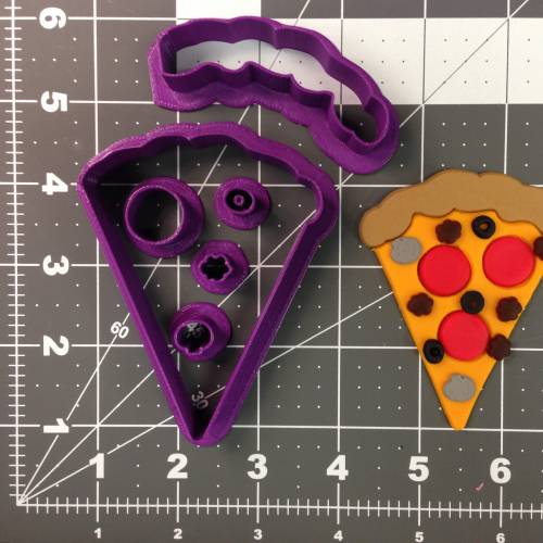 Pizza Slice 266-A841 Cookie Cutter Set