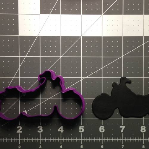 Motorcycle 102 Cookie Cutter