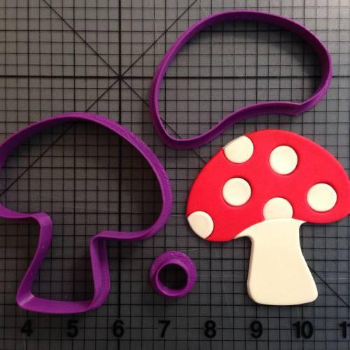 Mushroom Cookie Cutter Set