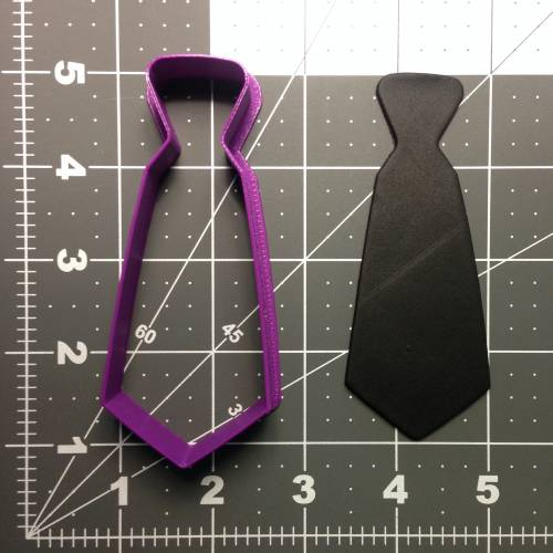Neck Tie 101 Cookie Cutter