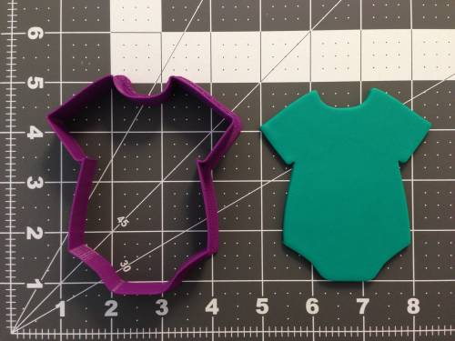 Baby Bodysuit 266-A661 Cookie Cutter