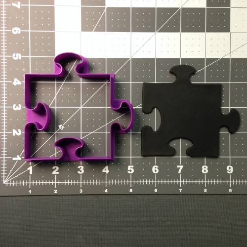 Puzzle Piece 102 Cookie Cutter