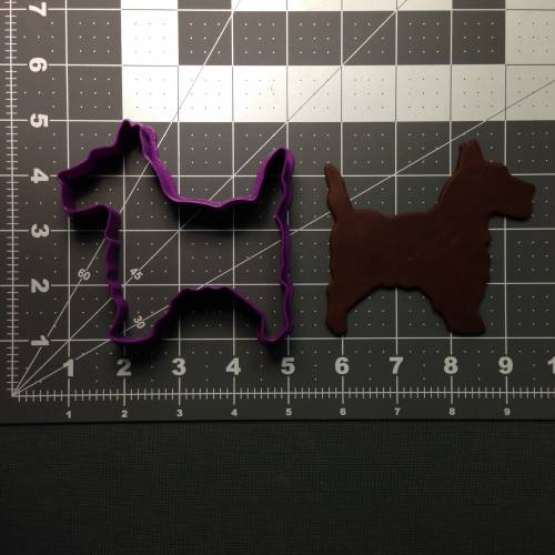 Scottie Dog 101 Cookie Cutter