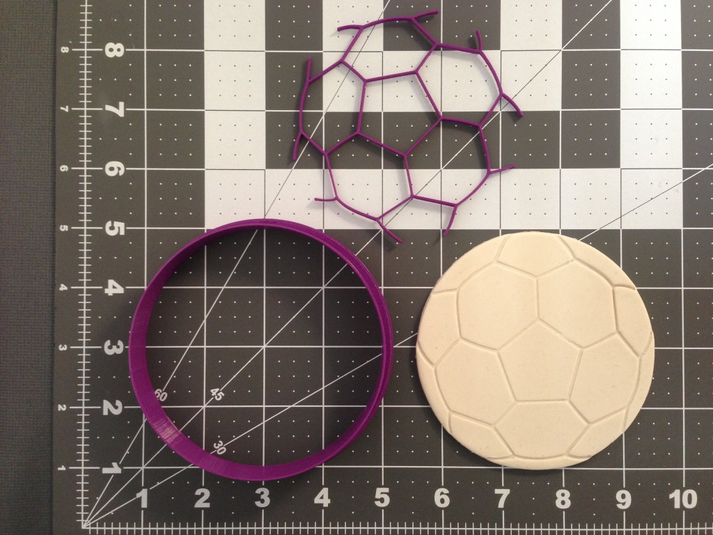 Soccer Ball Cookie Cutter Set