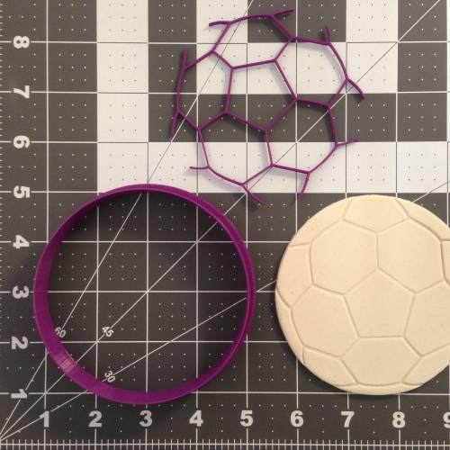 Soccer Ball Cookie Cutter Set