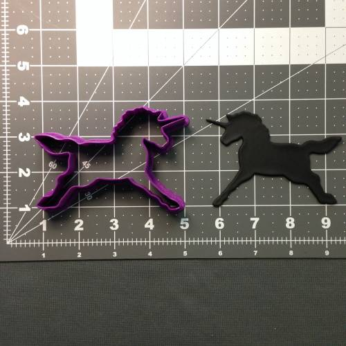 Unicorn 101 Cookie Cutter
