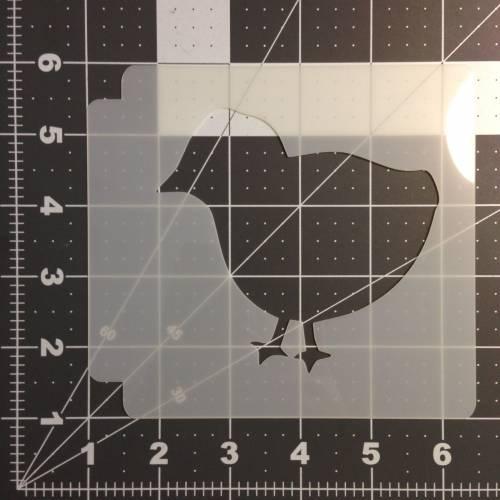 Baby Hen 100 Stencil