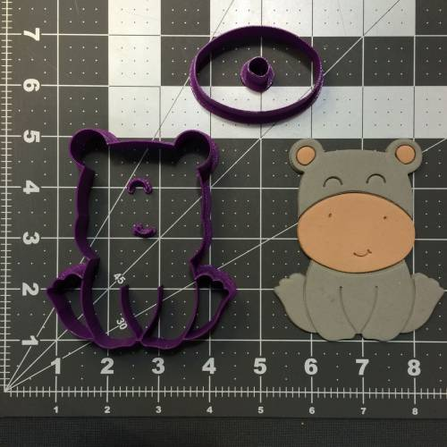 Baby Hippo 100 Cookie Cutter Set