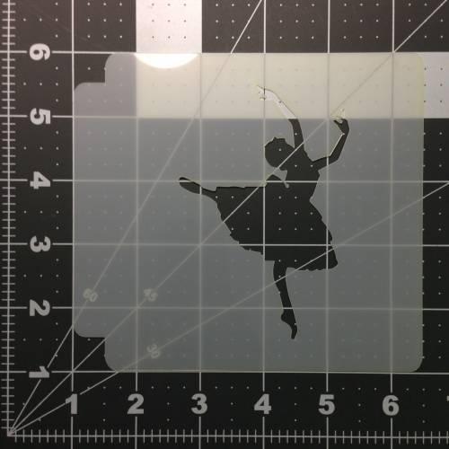 Ballerina 101 Stencil