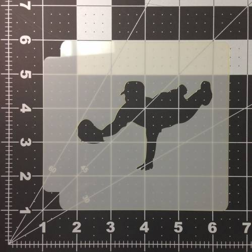 Baseball 101 Stencil