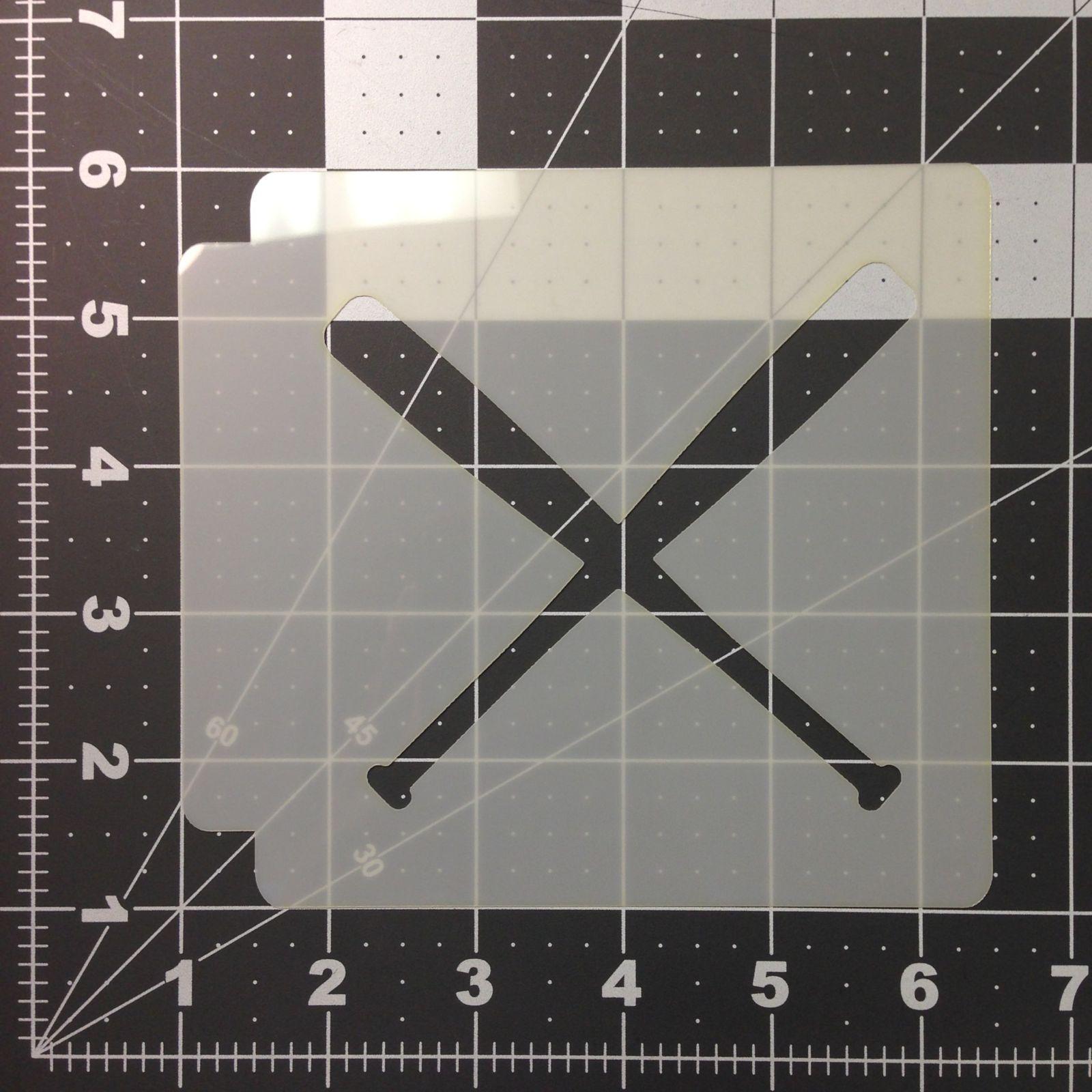 Baseball Stencil 105