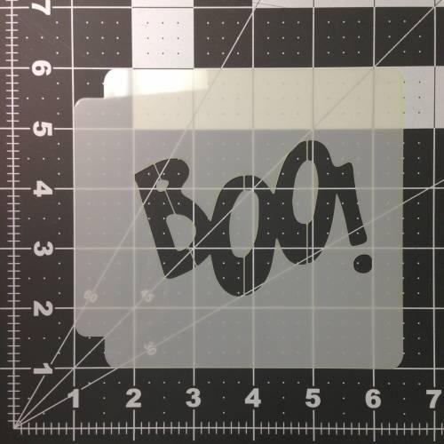 Boo Stencil 100