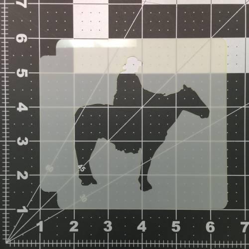 Cowboy Stencil 101