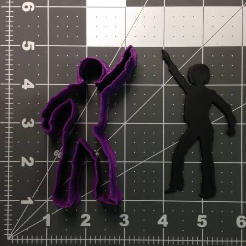Disco Dancer 101 Cookie Cutter