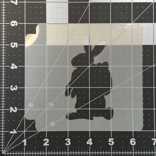 Easter Bunny Stencil 100