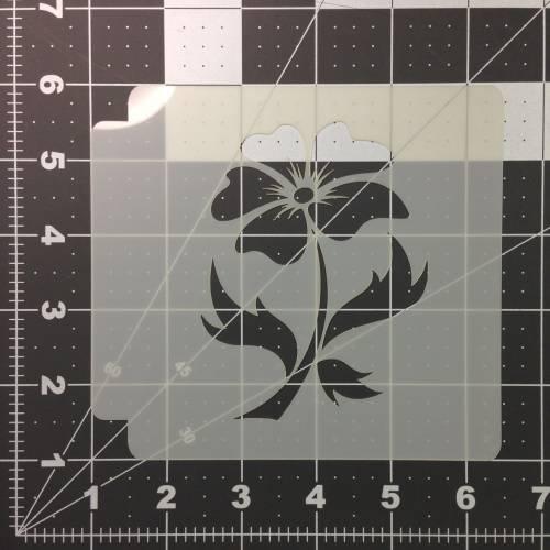 Flower Stencil 105