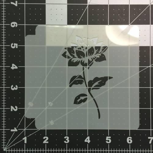 Flower Stencil 110