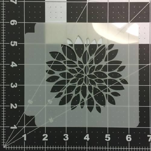 Flower Stencil 113