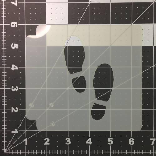 Foot Print Stencil 100