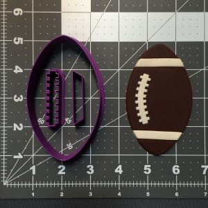 Football Cookie Cutter Set