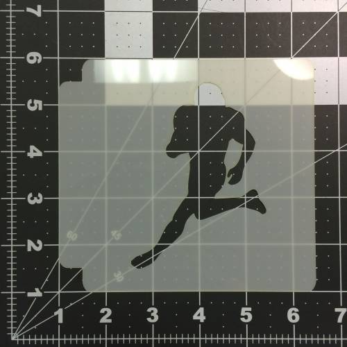 Football Stencil 102