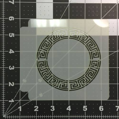 Greek Key Stencil 101