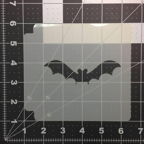 Halloween Bat Stencil 100