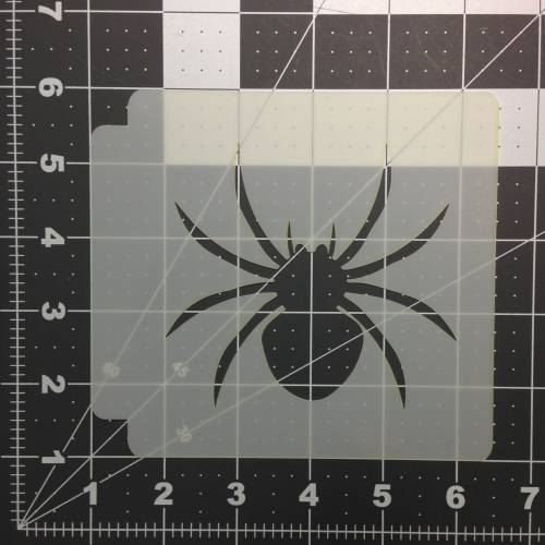 Halloween Spider Stencil 100