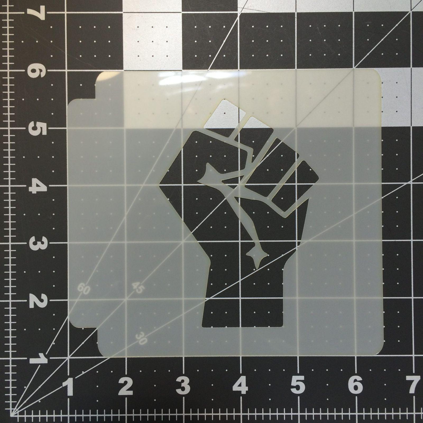 Hand Stencil 100