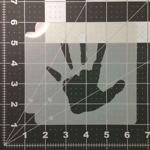 Hands Stencil 100