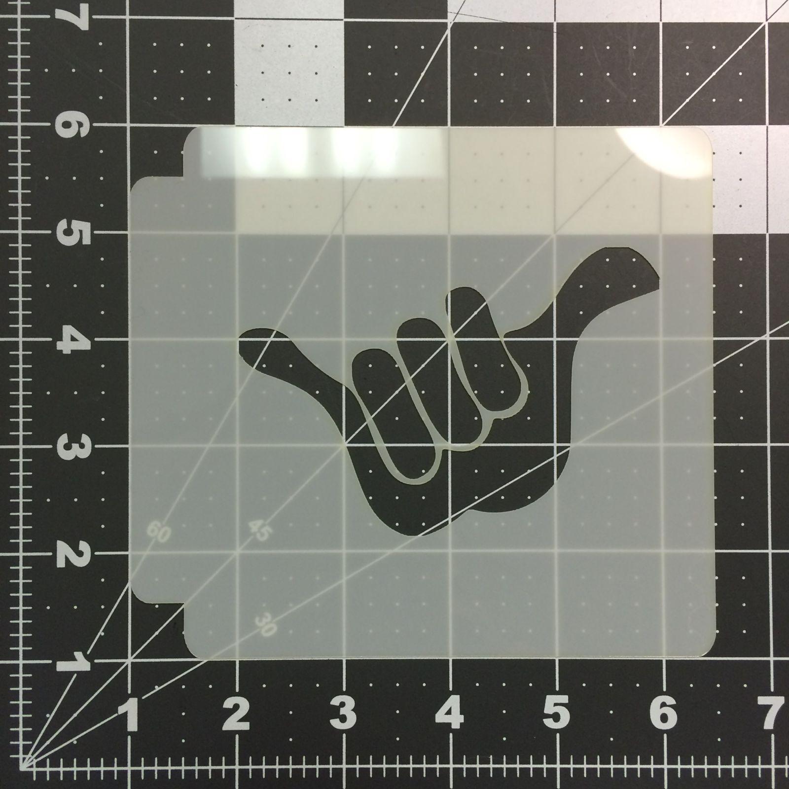 Hang Loose Stencil 100